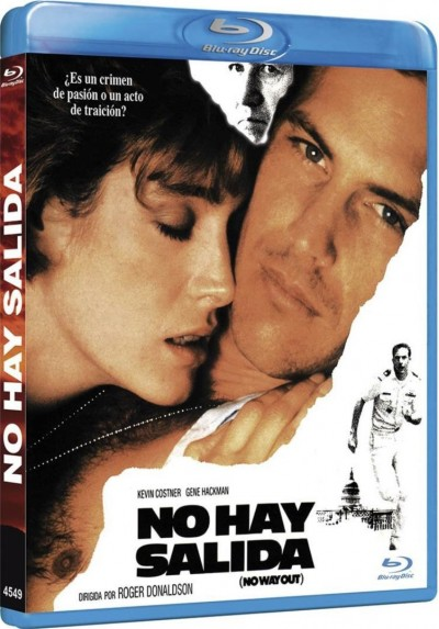 No Hay Salida (Blu-Ray) (No Way Out)