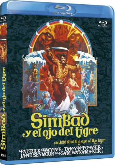 Simbad Y El Ojo Del Tigre (Blu-Ray) (Sinbad And The Eye Of The Tiger)