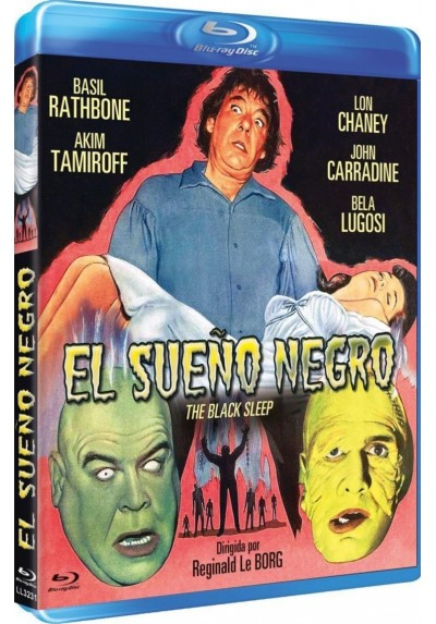 El Sueño Negro (Blu-Ray) (The Black Sleep)