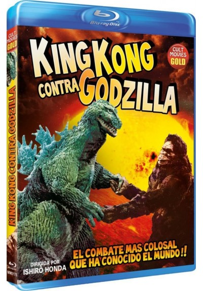 King Kong Contra Godzilla (Blu-Ray) (Kingu Kongu Tai Gojira)