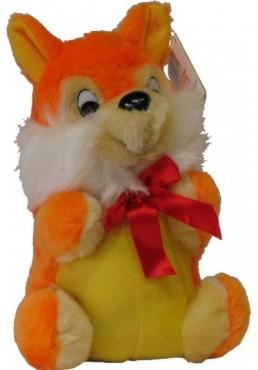 Peluche Ardilla Naranja - 22 cms.