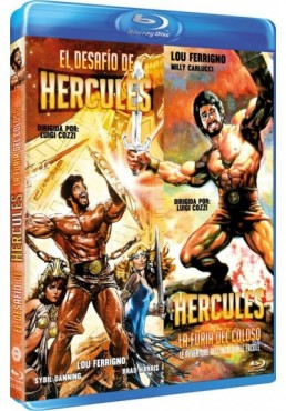 El Desafío De Hercules / Hercules, La Furia Del Coloso (Blu-Ray)