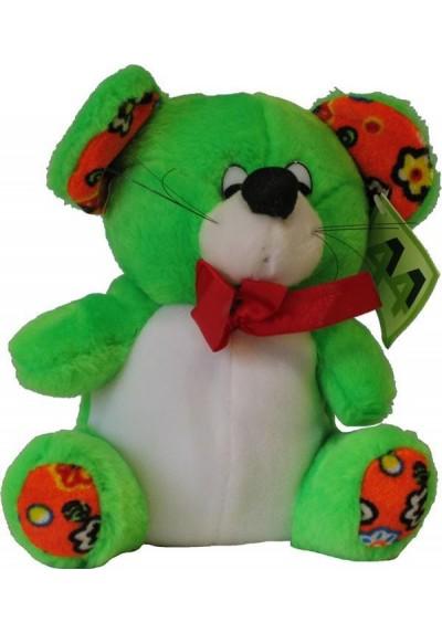Peluche Osito Verde - 22 cms.