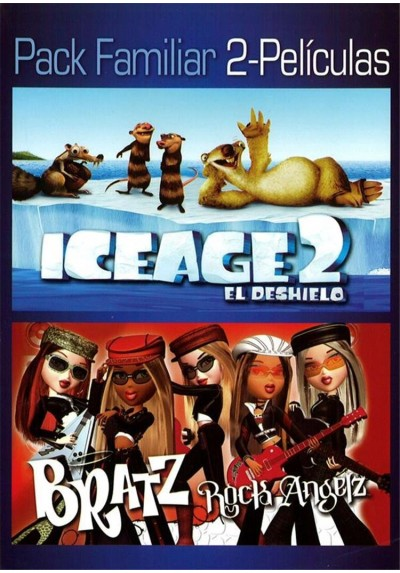 Pack Ice Age 2 El Deshielo + Bratz Rock Angelz