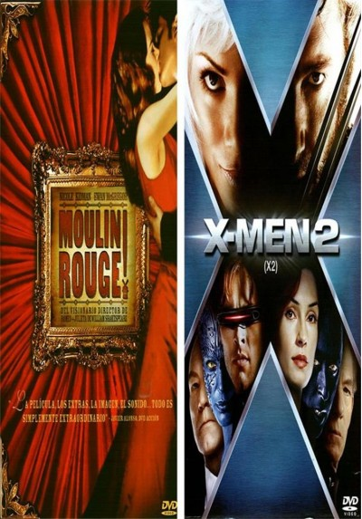 Pack Moulin Rouge + X-Men 2