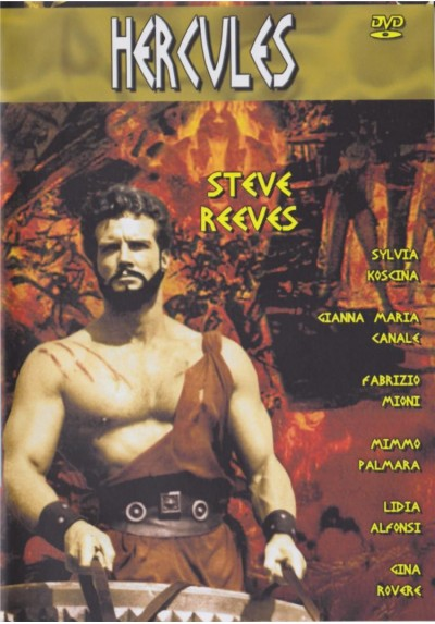 Hercules (1958) (Le Fatiche Di Ercole) (Dvd-R)