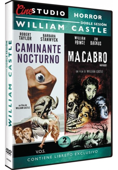 Doble Sesion William Castle: Caminante Nocturno + Macabro (The Night Walker + Macabre) (V.O.S.)