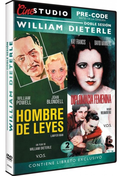 Doble Sesion Pre-Code William Dieterle: Hombre de Leyes + Diplomacia Femenina (Lawyer Man + Man Wanted)  (V.O.S.)
