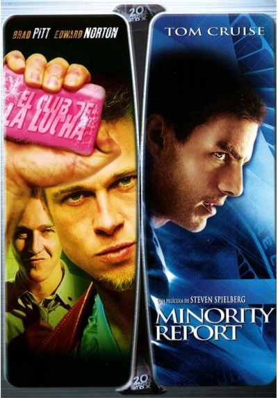 Pack El Club de la Lucha + Minority Report