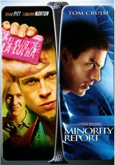 Pack El Club de la Lucha + Minority Report