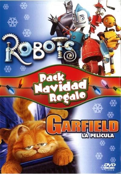 Pack Robots + Garfield, La Película