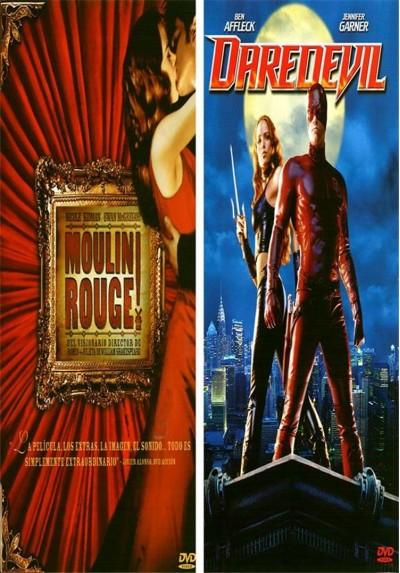 Pack Daredevil - Edición 2 Discos + Moulin Rouge - Edición 2 Discos