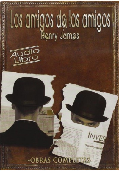 Los Amigos De Los Amigos (Henry James) - CD De Audio