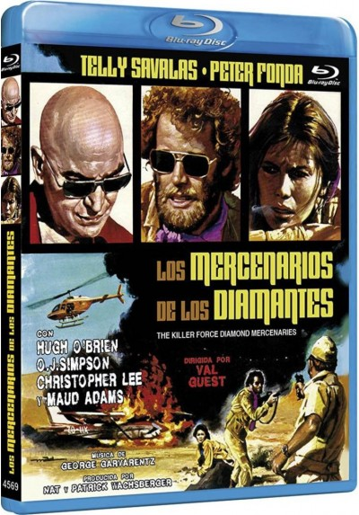 Los Mercenarios De Los Diamantes (Blu-Ray) (The Killer Force Diamond Mercenaries)