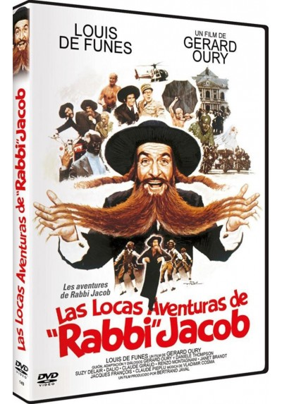 Las Locas Aventuras De Rabbi Jacob (Les Aventures De Rabbi Jacob)