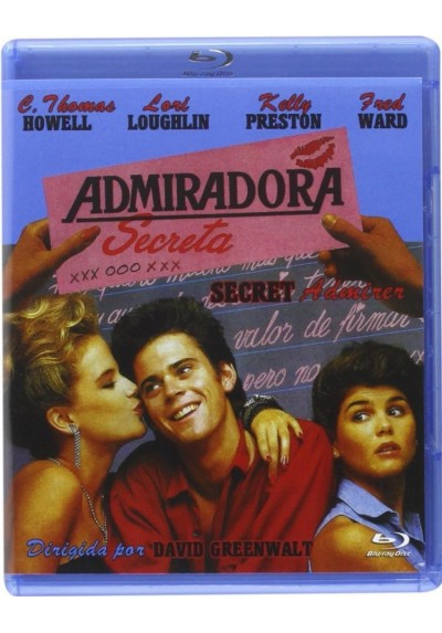 Admiradora Secreta (Blu-Ray) (Bd-R) (Secret Admirer)