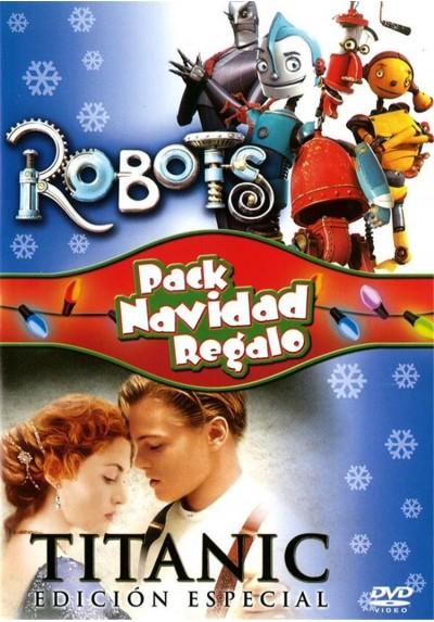 Pack Robots + Titanic Edición Especial - 2 Discos