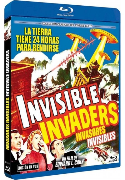Invasores Invisibles (V.O.S.) (Blu-Ray) (Bd-R) (Invisible Invaders)