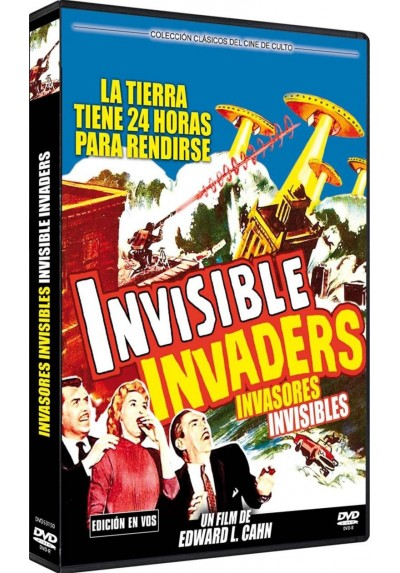 Invasores Invisibles (V.O.S.) (Dvd-R) (Invisible Invaders)