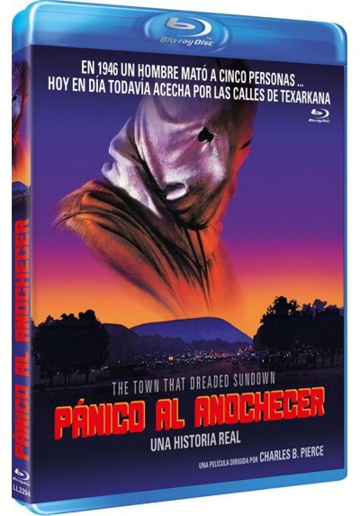 Panico Al Anochecer (Blu-Ray) (The Town That Dreaded Sundown)