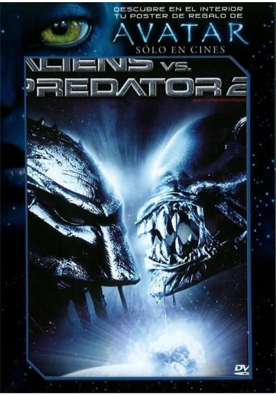 "Alien vs. Predator 2 - Versión Extendida + Poster de ""Avatar"""