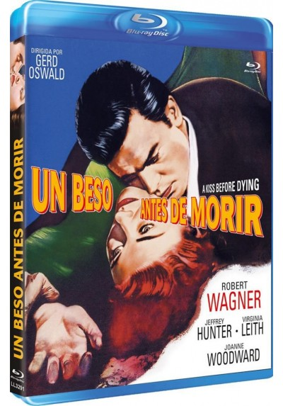 Un Beso Antes De Morir (Blu-Ray) (A Kiss Before Dying)