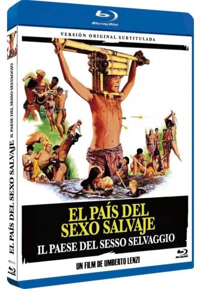 El pais del sexo salvaje (Blu-Ray) (Il paese del sesso selvaggio)