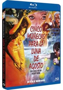 Cinco muñecas para la luna de agosto (Blu-Ray) (5 bambole per la luna d'agosto)