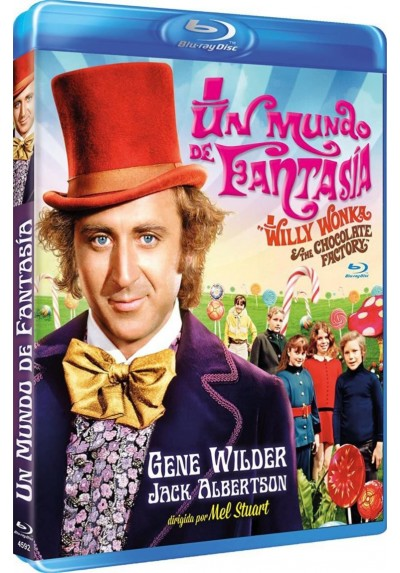 Un mundo de fantasia (Blu-Ray) (Willy Wonka and the Chocolate Factory)
