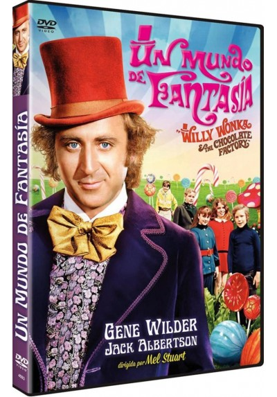 Un mundo de fantasia (Willy Wonka and the Chocolate Factory)