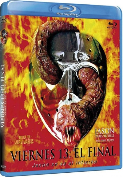 Viernes 13 : El Final (Blu-Ray) (Jason Goes To Hell: The Final Friday)