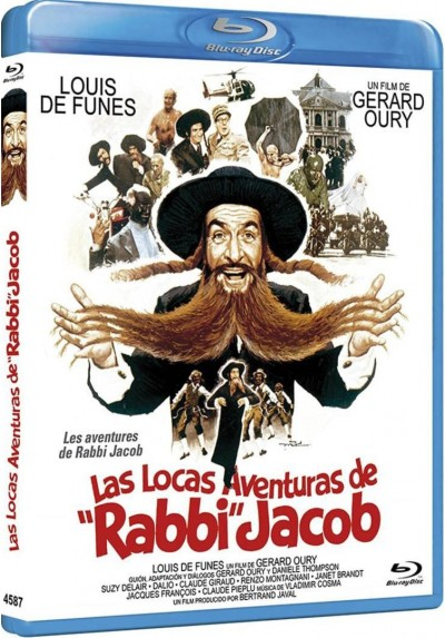 Las Locas Aventuras De Rabbi Jacob (Blu-Ray) (Les Aventures De Rabbi Jacob)