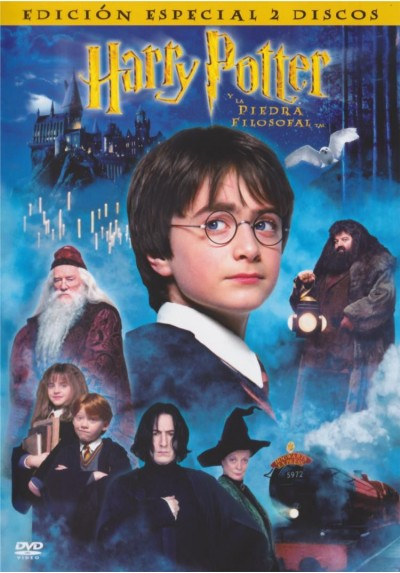 Harry Potter Y La Piedra Filosofal (Ed.Especial 2 Discos) (Harry Potter And The Sorcerer´s Stone)