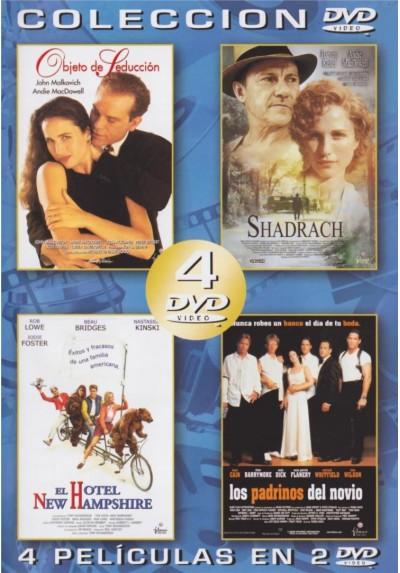 Pack Coleccion: Objeto De Seduccion / Shadrach / El Hotel New Hampshire /  Los Padrinos Del Novio