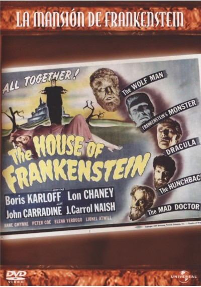 La Mansion De Frankenstein (House Of Frankenstein)