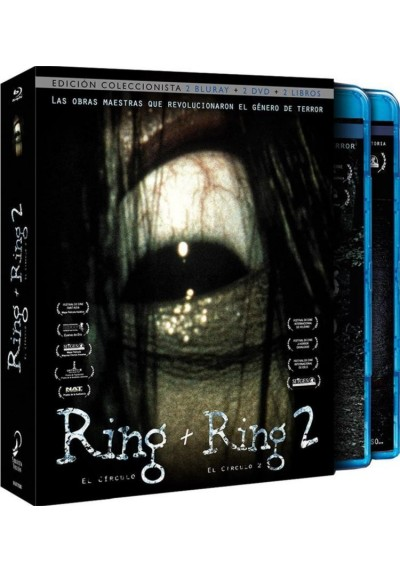 Pack The Ring + The Ring 2 (Blu-Ray+Dvd+Libro) (Edicion Coleccionista)