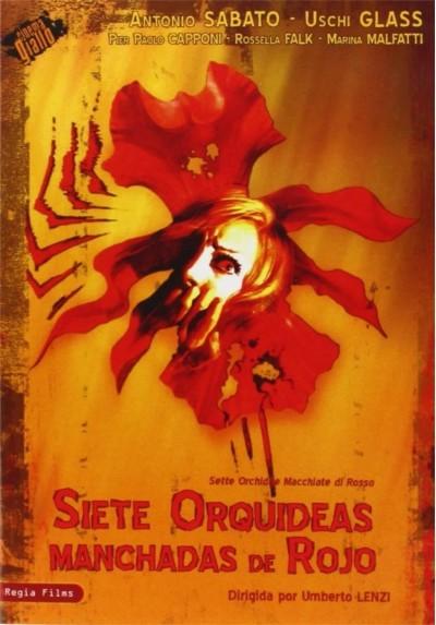 Siete Orquideas Manchadas De Rojo (Sette Orchidee Macchiate Di Rosso)