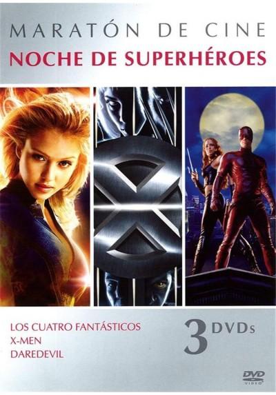 Pack Noche de Superhéroes