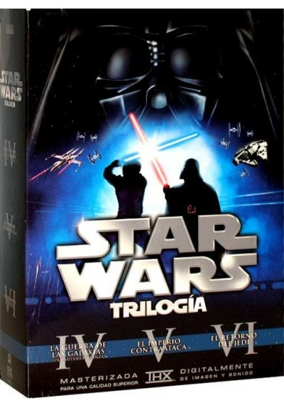 Star Wars Trilogía (6 Discos)