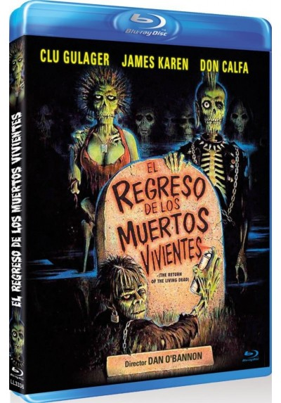 El Regreso De Los Muertos Vivientes (Blu-Ray) (The Return Of The Living Dead)