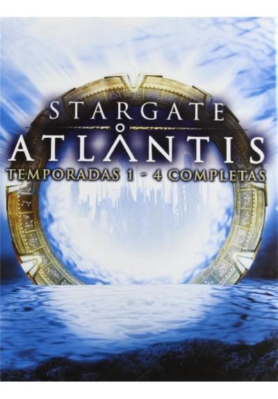 Stargate Atlantis: Temporadas 1-4 Completas