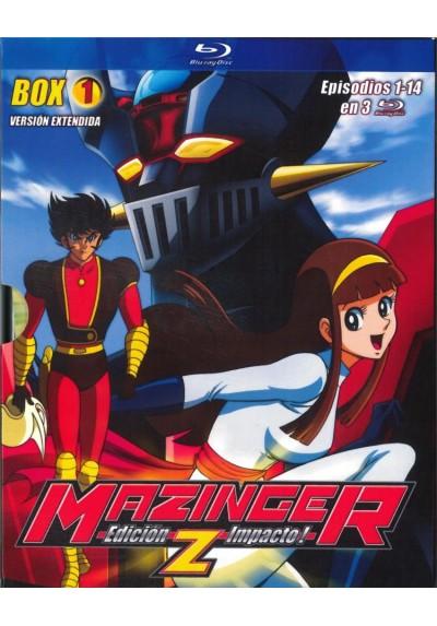 Mazinger Z : Ed. Impacto - Box 1 (Blu-Ray) (Shin Mazinger Shogek Z Hen)