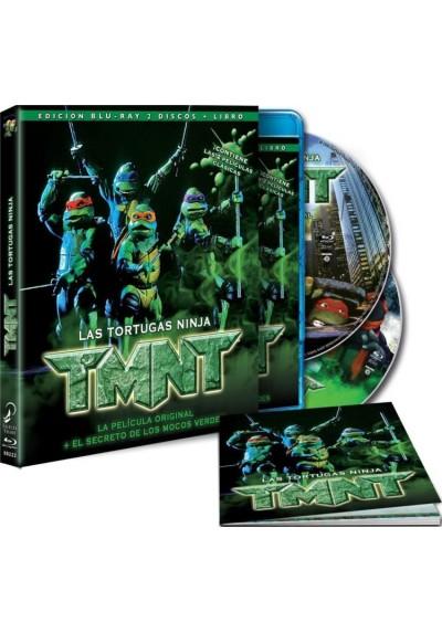 Las Tortugas Ninja : La Pelicula Original / Las Tortugas Ninja 2 : El Secreto De Los Mocos Verdes (Blu-Ray + Libro)