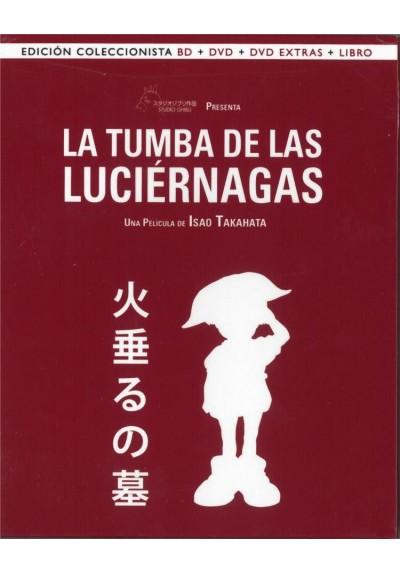 La Tumba De Las Luciernagas (Blu-Ray + Dvd + Extras + Libro) (Ed. Coleccionista) (Hotaru No Naka)