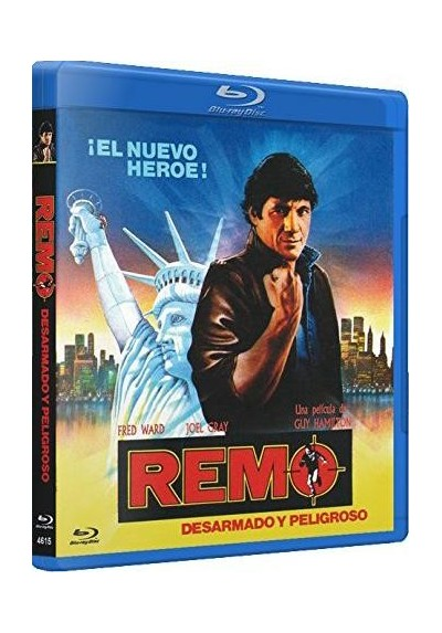 Remo, Desarmado Y Peligroso (Blu-Ray) (Remo Williams: The Adventure Beginsaka)