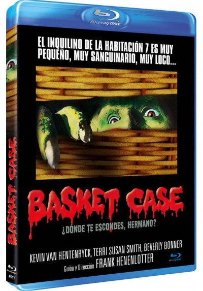 Basket Case ¿donde Te Escondes, Hermano? (Blu-Ray)