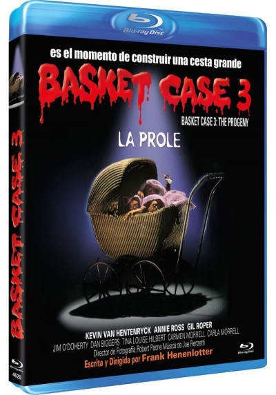 Basket Case 3: La prole (Blu-Ray) (Basket Case 3: The Progeny)