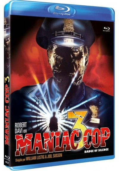 Maniac Cop 3 (Blu-Ray) (Maniac Cop III : Badge Of Silence)