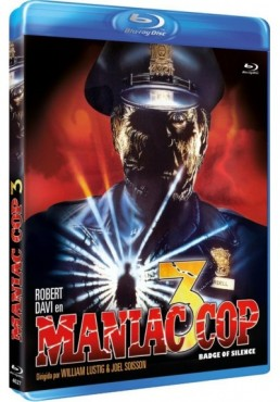 Maniac Cop 3 (Blu-Ray) (Maniac Cop III : Badge Of Silence)
