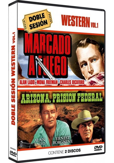 Doble Sesion de Wester Vol.1 - Marcado A Fuego / Arizona Prision Federal (Dvd-R)